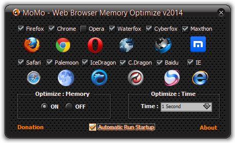 Momo Web Browser Memory Optimize 2014